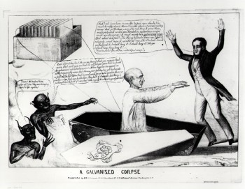 A Galvanised Corpse - 1836