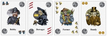 sample Wolf Man's Curse cards