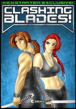 Clashing Blades - Kickstarter Exclusive cover