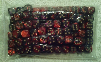 fanged smiley dice