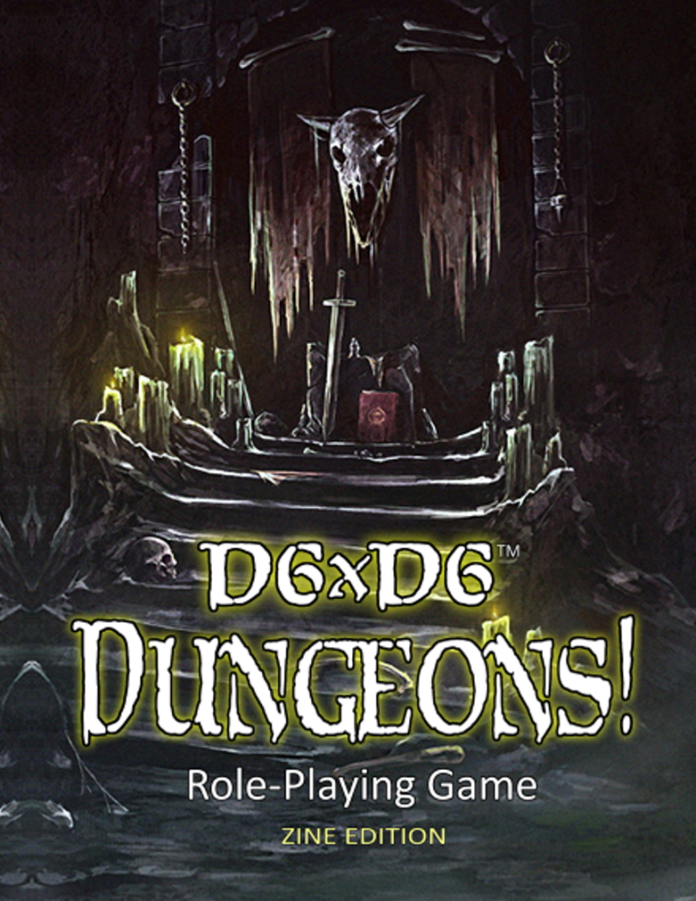 D6xD6 Dungeons! cover